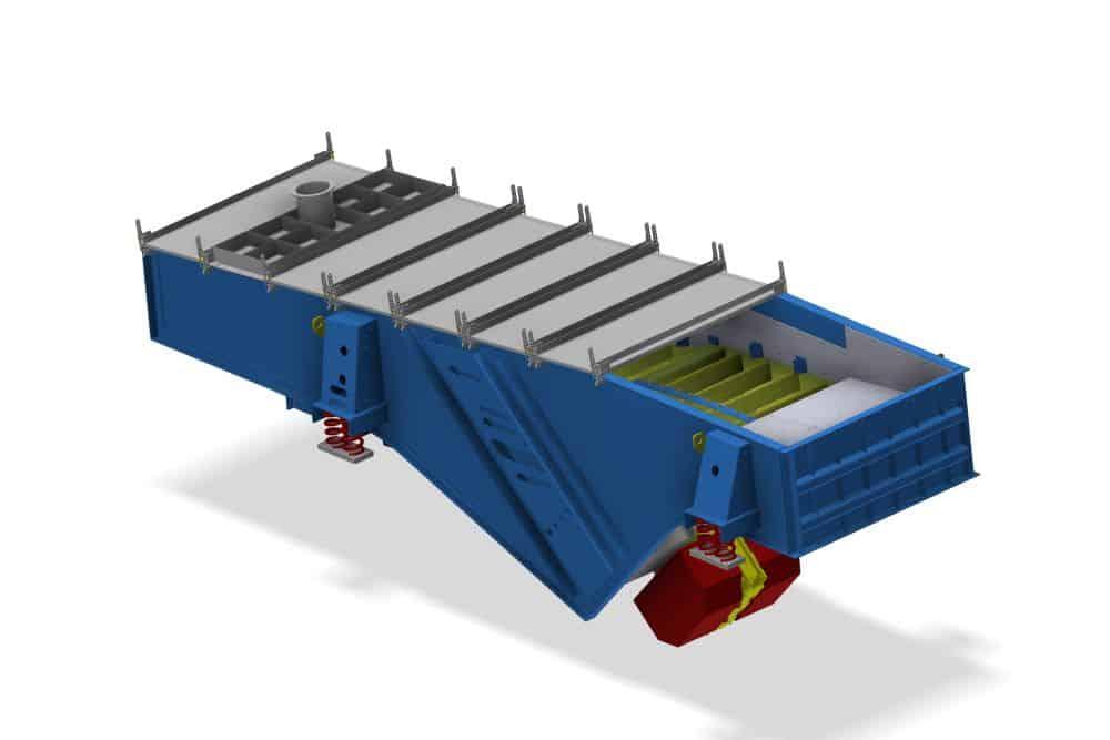 ConviTec Siebmaschine in 3-D